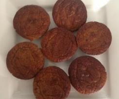 Banana and date muffins gluten free