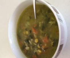 Green Veg Soup (aka Grinch Soup)