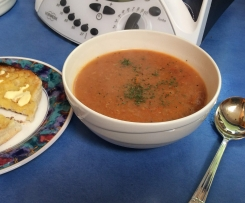 Huldah's Roast Tomato and Bread Soup