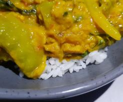 Vegan clone Kaffir Lime Curry