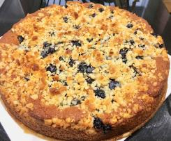 Easy Blueberry & Yoghurt Cake