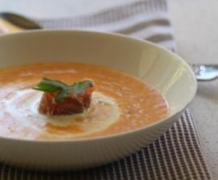 Smoked Salmon Soup