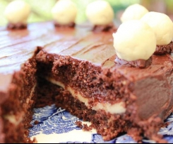 Easter Chocolate Simnel Cake