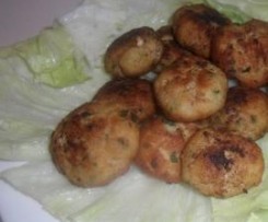 Fish Balls lightly fried in Vegetable Oil
