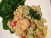 Prawn basil and tomato risotto