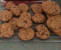 CAROB & CACAO COOKIES (FODMAP, DAIRY AND GLUTEN FREE)