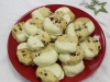 Red and green Christmas shortbread