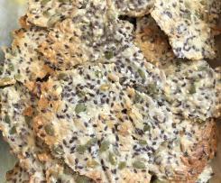 Sue's Secret Seedy Sheet Crackers