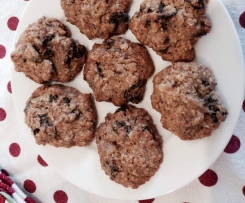 Raisin, Cinnamon and Oat Cookies