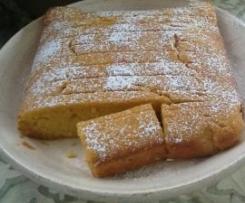 Pumpkin Citrus Syrup cake