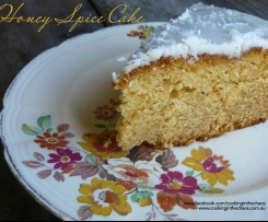 Honey Spice Cake