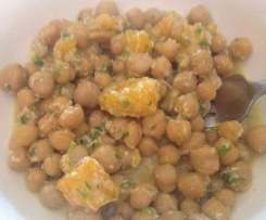 Coconut & Chickpea Salad