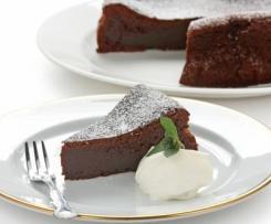 FODMAP Friendly Chocolate Fondant Cake