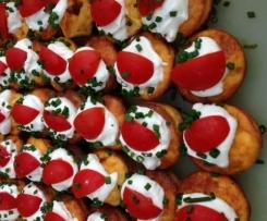 Mini Tomato & Feta Frittata's