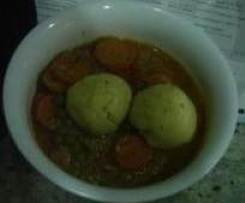 Lamb or Beef Stew with GF Parsley Dumplings