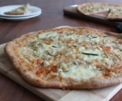 Pizza Bianca with potato and rosemary