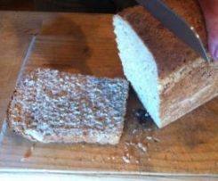 Twice-proven wholemeal bread