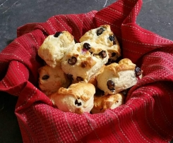 Blueberry & White Chocolate Scones