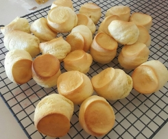 Variation Brazilian cheese puffs GF DF