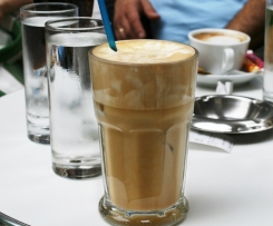 Frappe (Greek Iced Coffee)