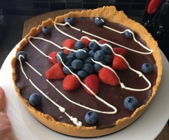 Chocolate Ganache Tart/Pie