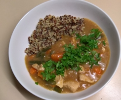 Chicken tagine with quinoa Lower GI
