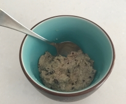 Quinoa Porridge with steamed apple