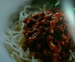 Spaghetti Bolognese - Diabetic Friendly