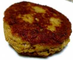 LCHF Salmon Rissoles, Gluten Free