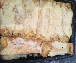 Chicken and Mushroom Crépes