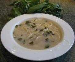 Basil & Almond Soup