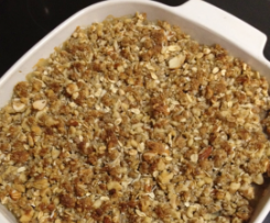 healthy apple crumble by mixingituptm31 on. Black Bedroom Furniture Sets. Home Design Ideas