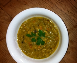 Hearty Vegetable Soup with Chicken