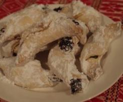 Croatian Kifle ~ Shortcrust biscuits with jam