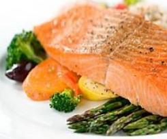Dijon Salmon and Vegetables (Varoma)