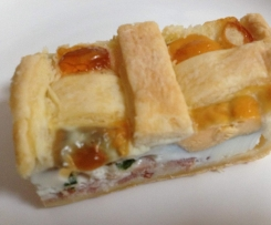 Easy Egg and Bacon Pie
