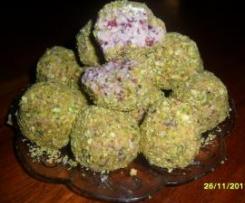 White Chocolate & Cranberry Christmas Truffles