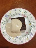 Cashew Cream &  Brownie (Quirky Cooking)