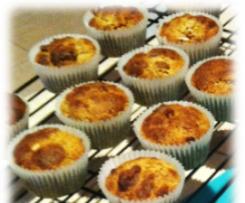 Cranberry, Dates & Walnut Bran Muffin Recipe