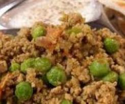 Spicy Minced Lamb - Keema Matar