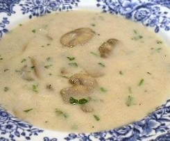 Low Carb Clone of Mushroom soup