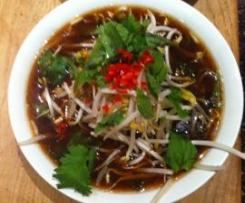 Thai vietnamese noodle soup