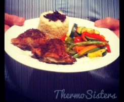 Dad's Favourite Oven-Baked Lemon Chicken