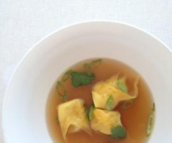 Pork and Crab Wonton Soup