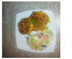 Vegie Filled Corned Beef Fritters