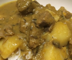 Thai Yellow Beef Curry