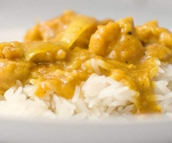 Mrs Duck's Chicken Curry