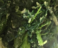 Creamed Mixed Greens
