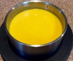 Leek, Pumpkin And Carrot Soup