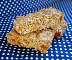 Healthy Oat & Apricot Slice